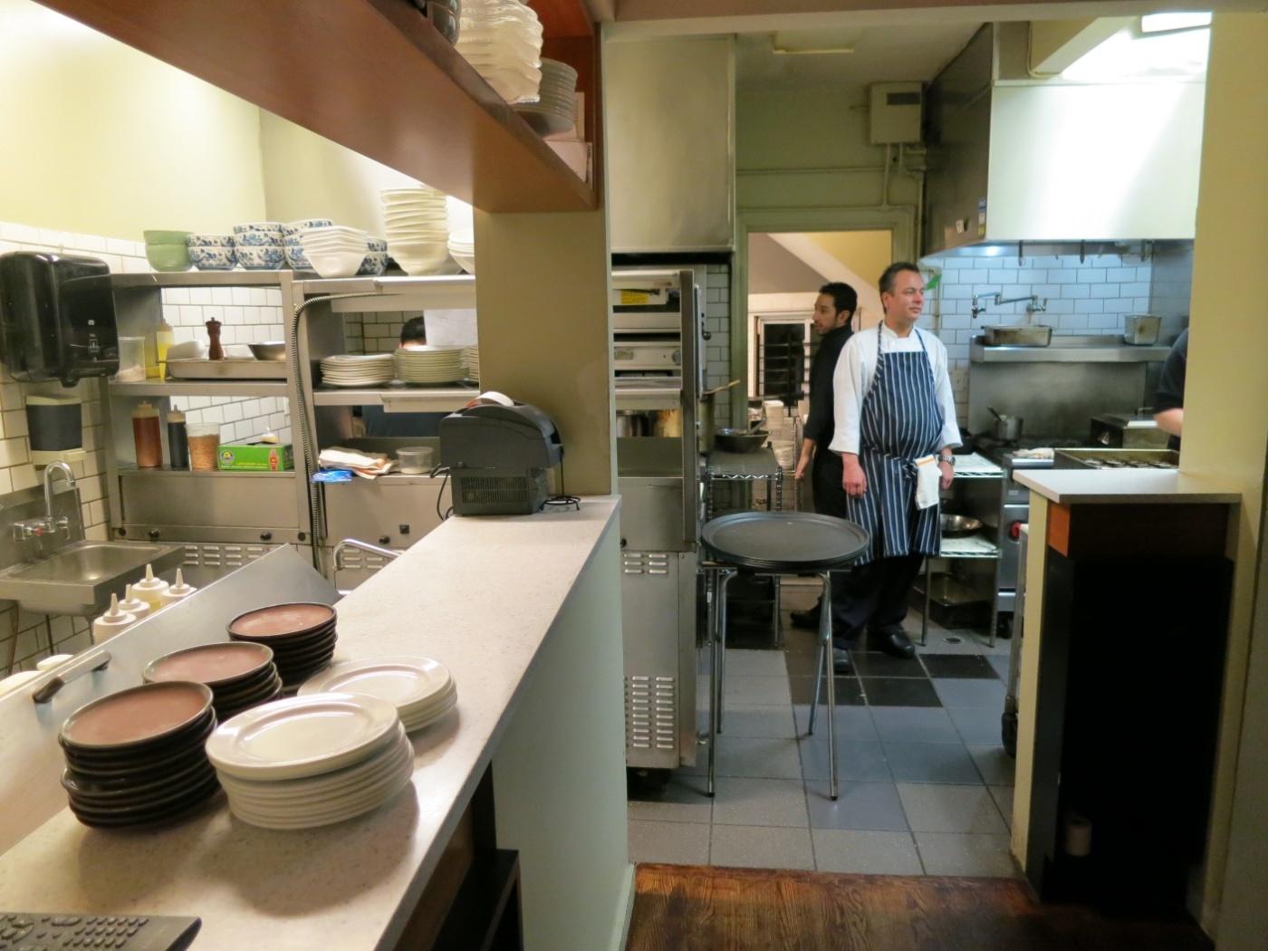 Kitchen at Takashi