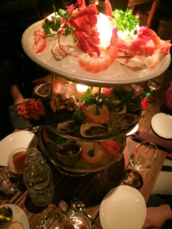 Maude's Seafood Tower