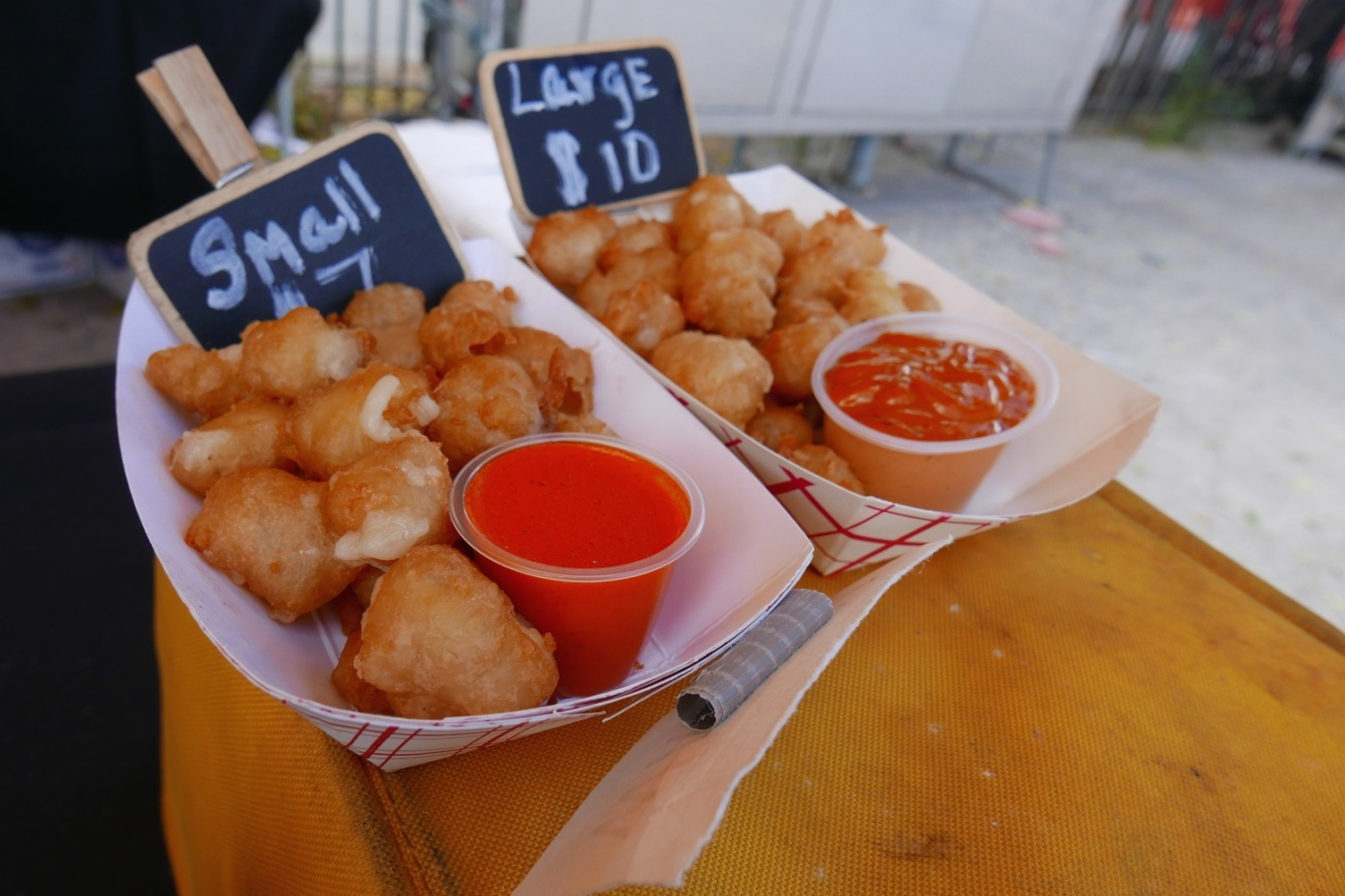 Curd's the Word. Artisanal Beer Battered Cheese Curds