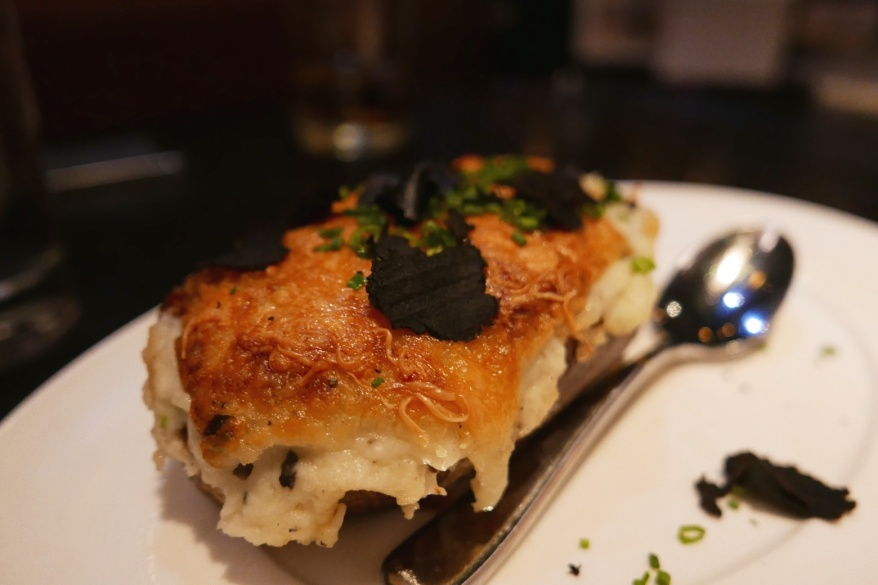 Millionaire Twice Potato with Fontina and Black Truffle