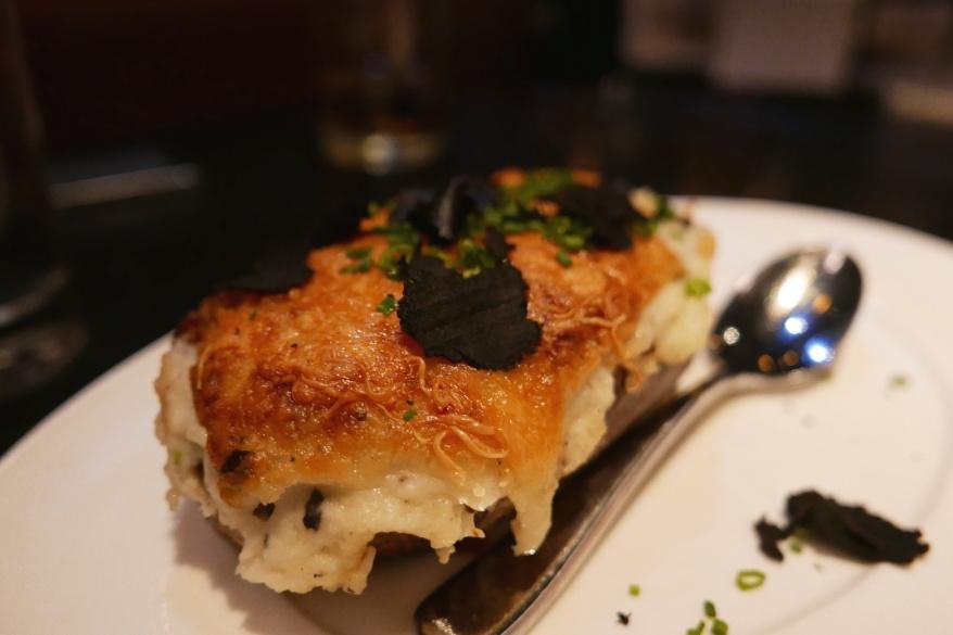 Millionaire Twice Potato with Fontina and Black Truffle