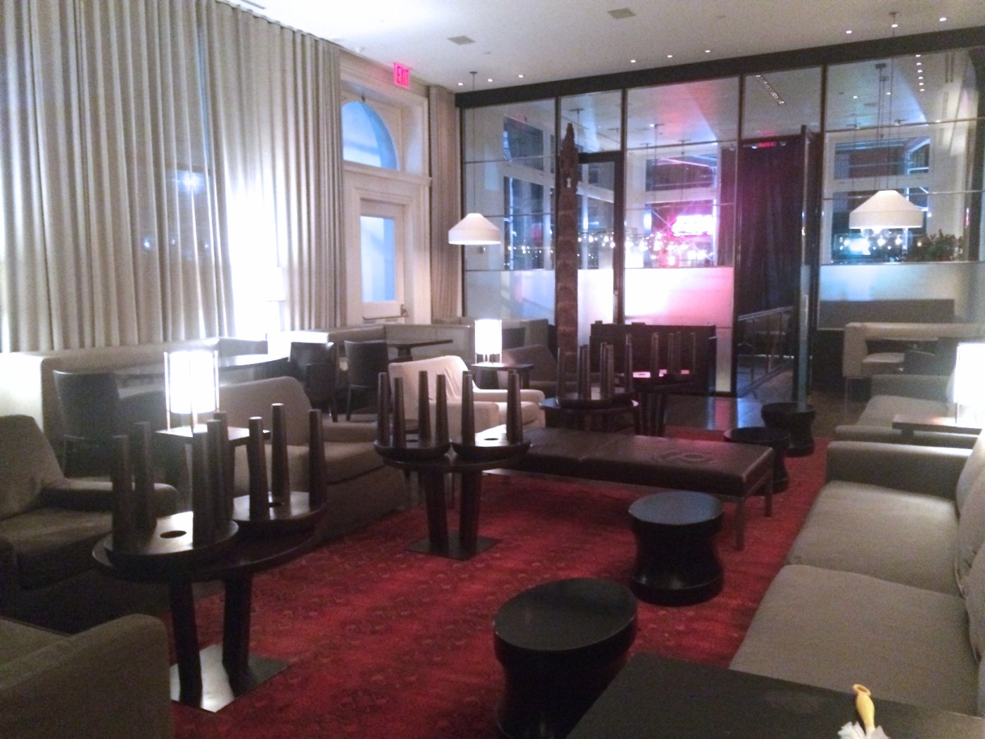 Lobby at The Mercer