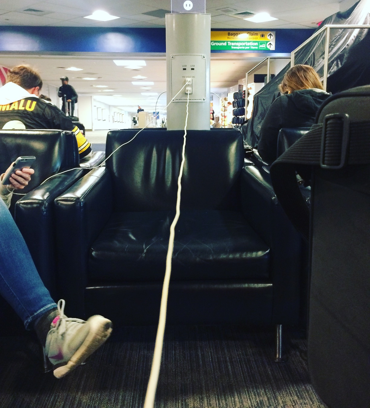 The longest iPhone cable in the world.