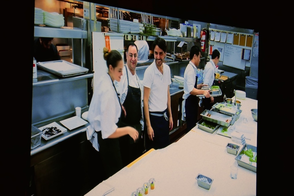 Live view of the kitchen on the LG