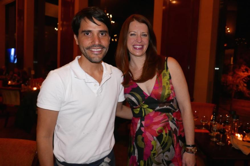 with Virgilio Martizez