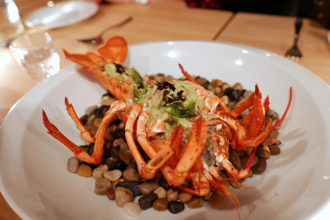 Papantla Pipia with Maine Lobster (Hoja Santa)