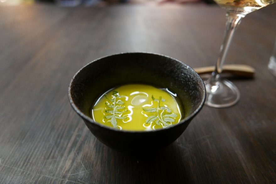 Panna Cotta of Very Good Milk and Lemony Olive Oil