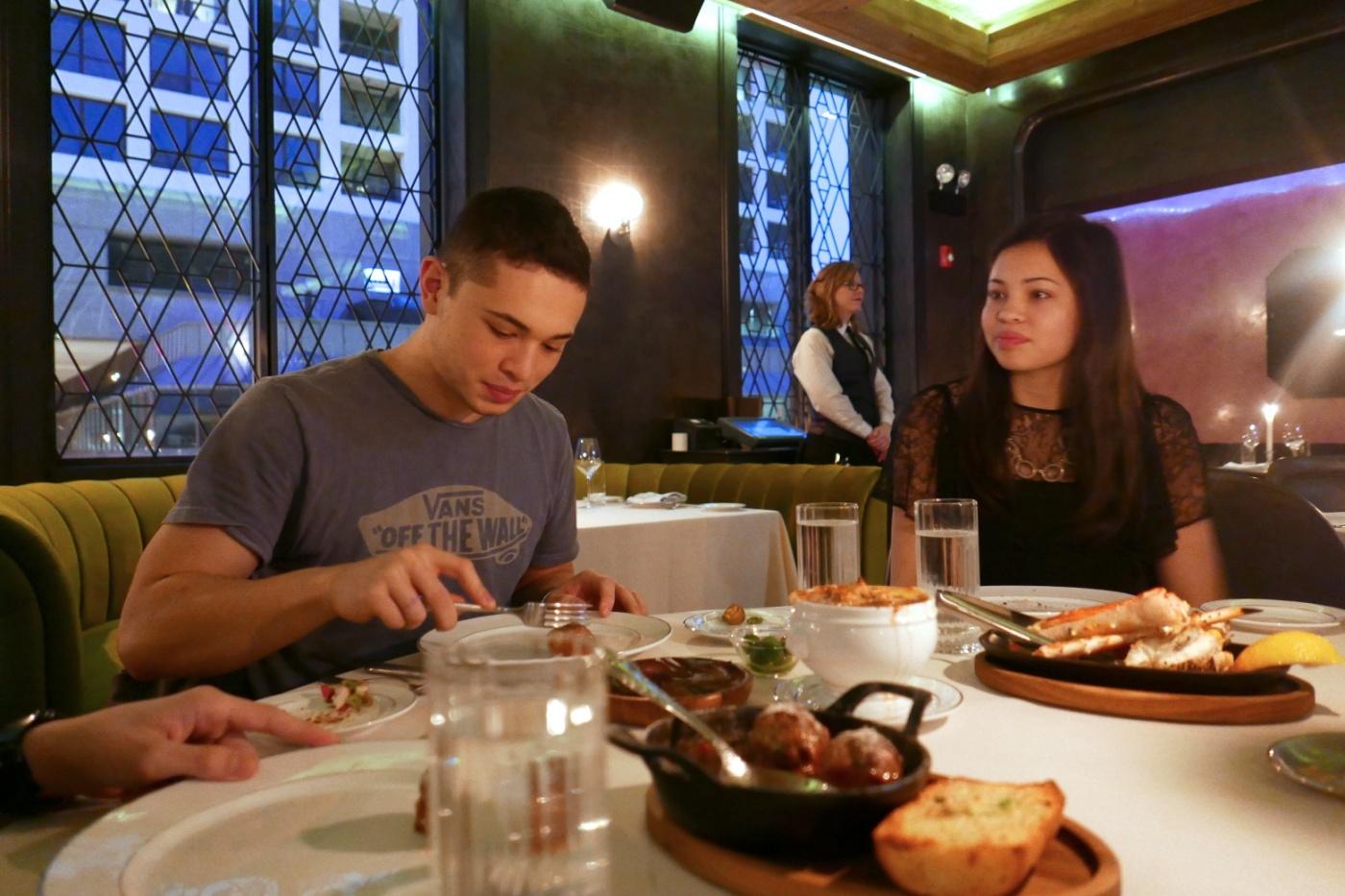 Dinner at Maple & Ash