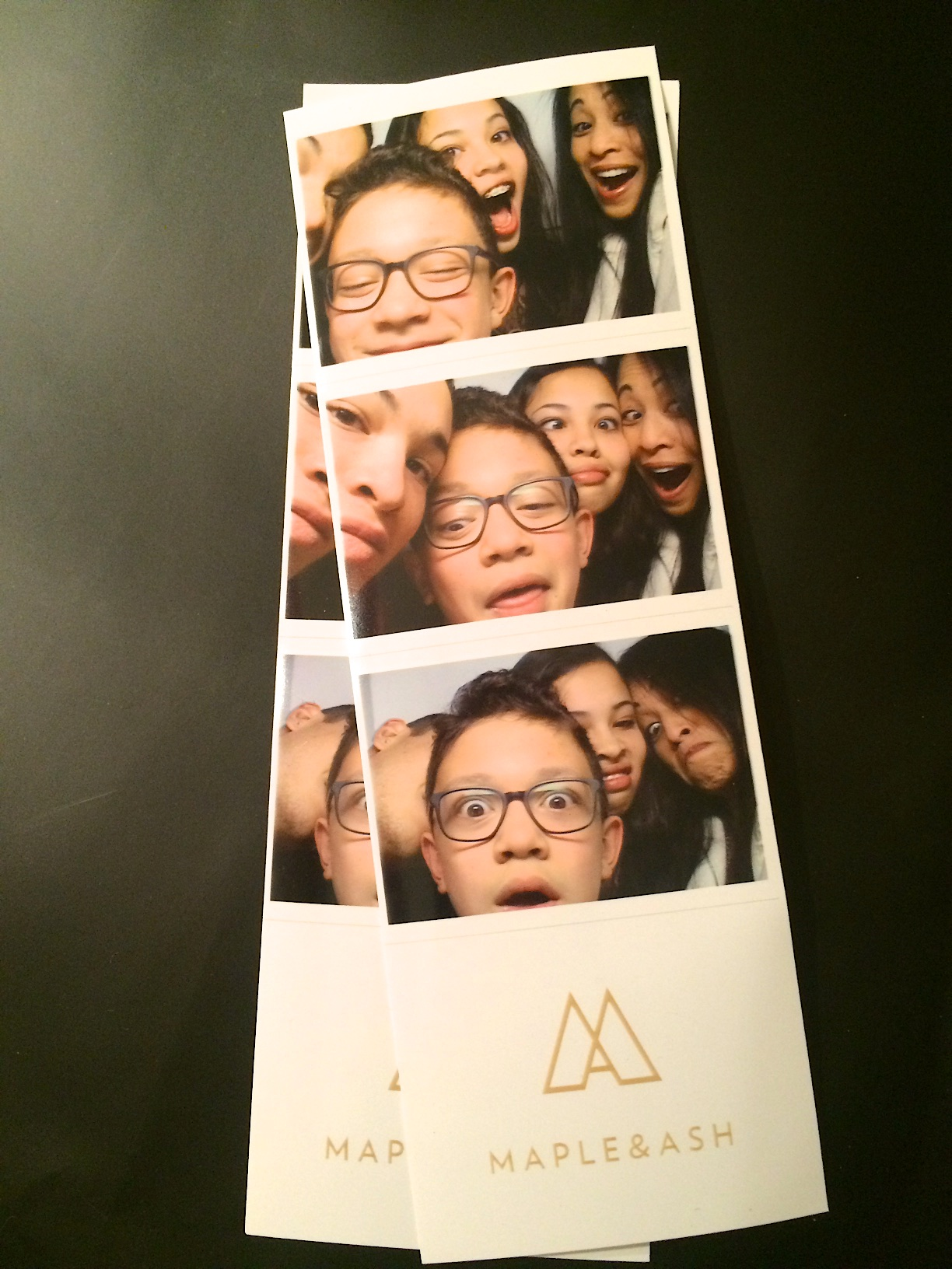 Photo Booth pics at Maple & Ash