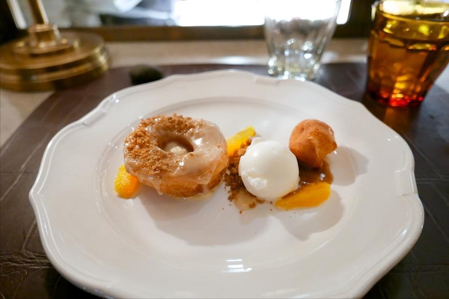 Doughnuts, caramel, miso butterscotch [Nico Osteria]