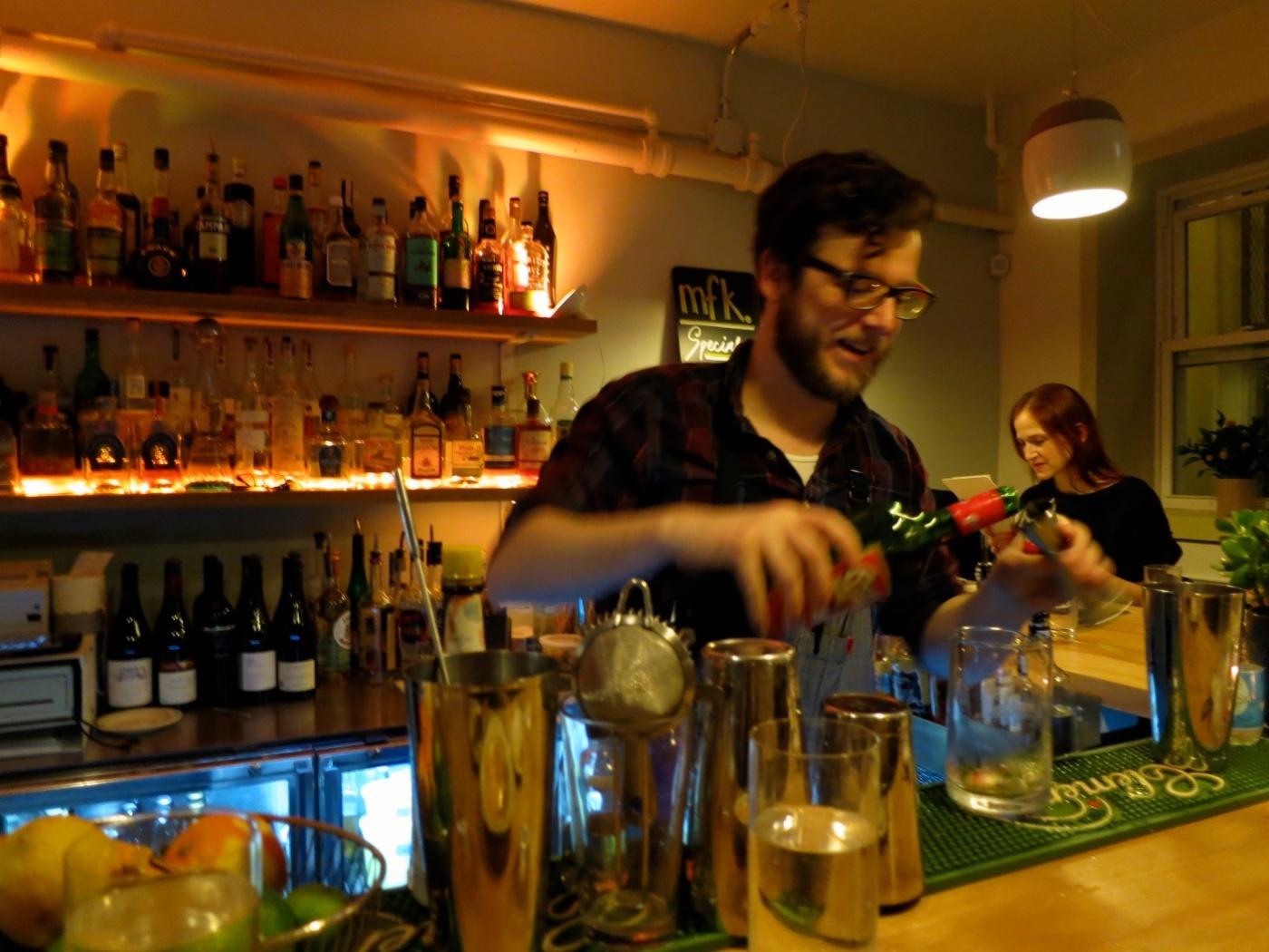 Bar at mfk