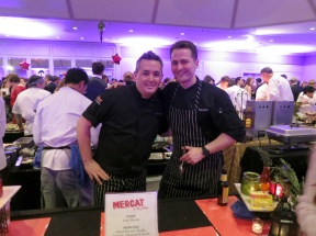 Cory Morris of Mercat a la Planxa at Grand Chefs Gala