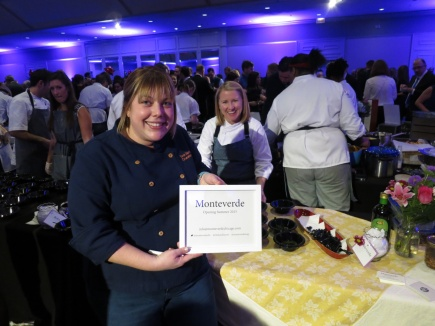 Sarah Grueneberg of Monteverde at Grand Chefs Gala