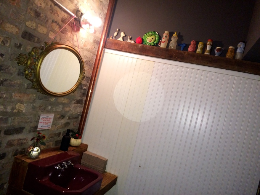Restroom at Parachute