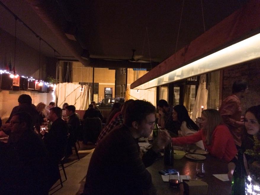 Dining room at Parachute