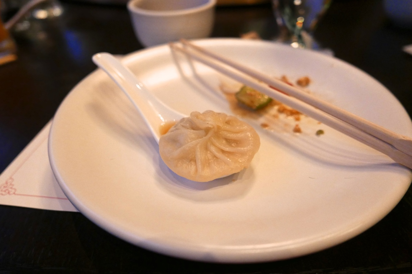 Xiao Long Bao, pork and crab soup dumpling