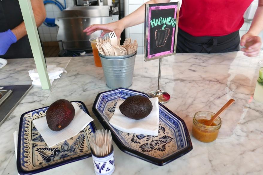 Avocado napkin holders