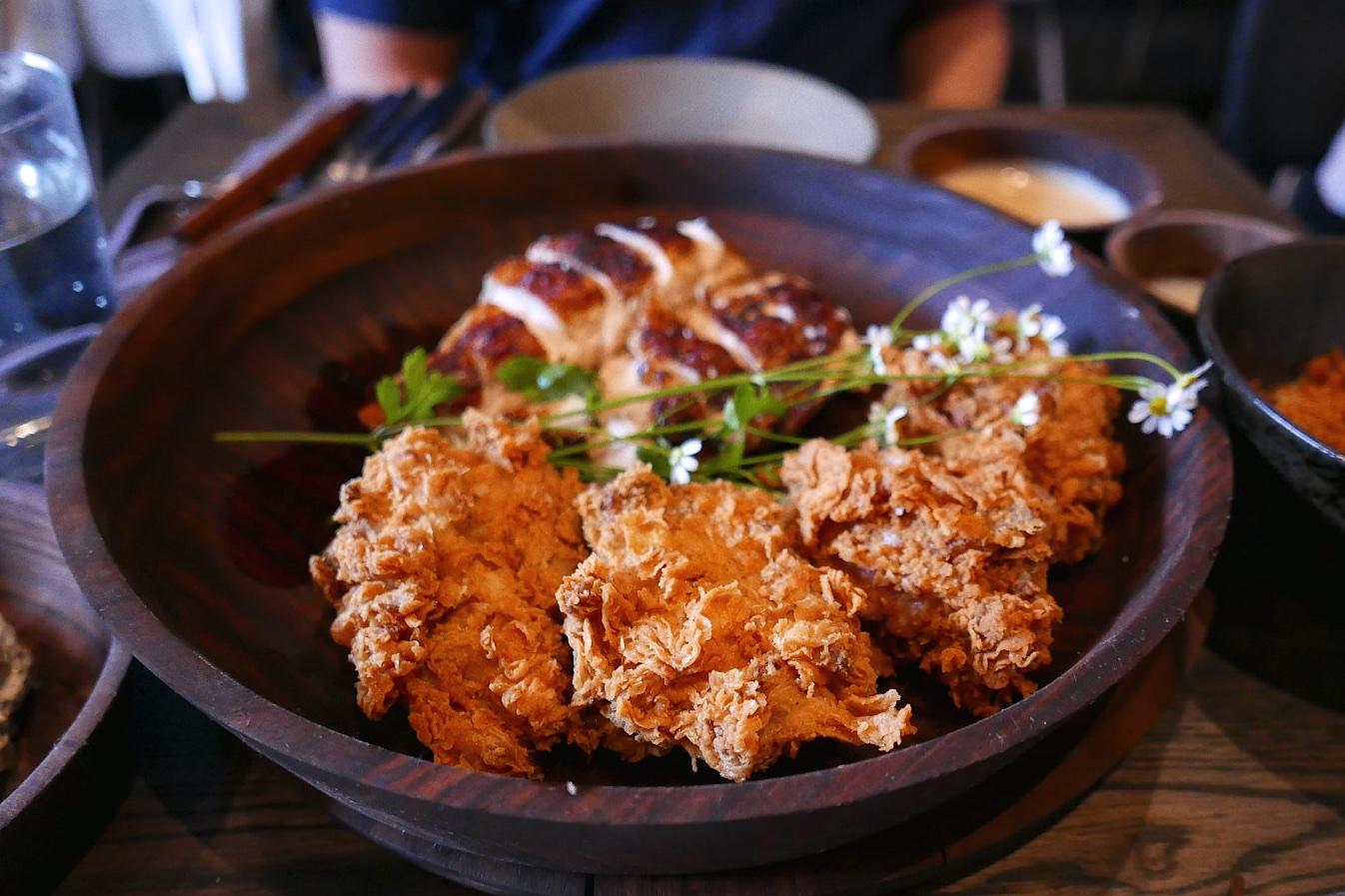 Chicken, fried