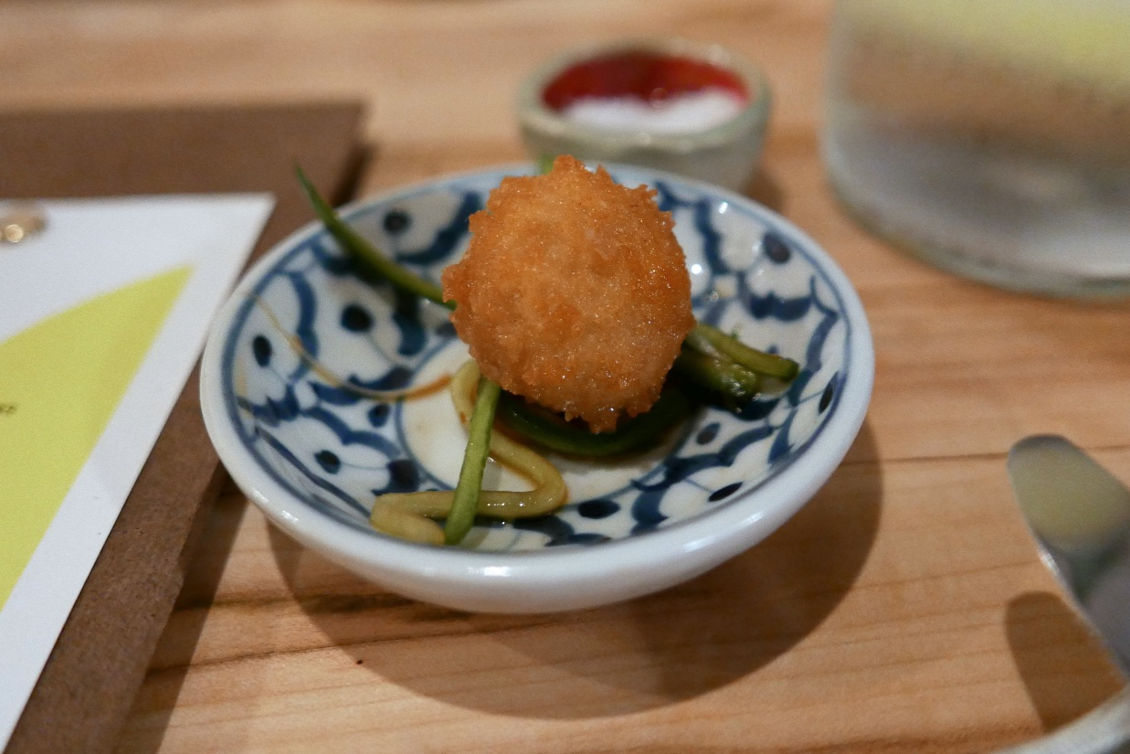 Uni Shooter, cucumber, soy