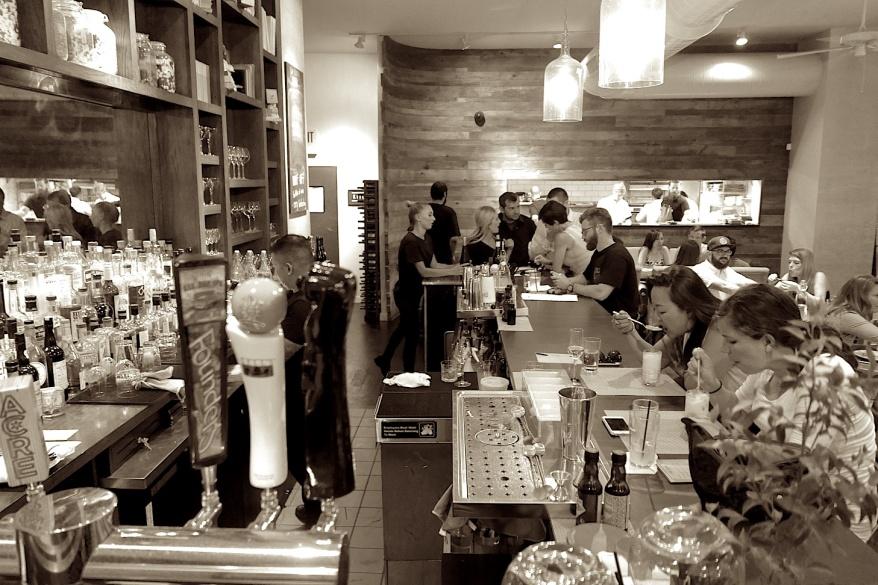 Bar at White Oak Tavern & Inn