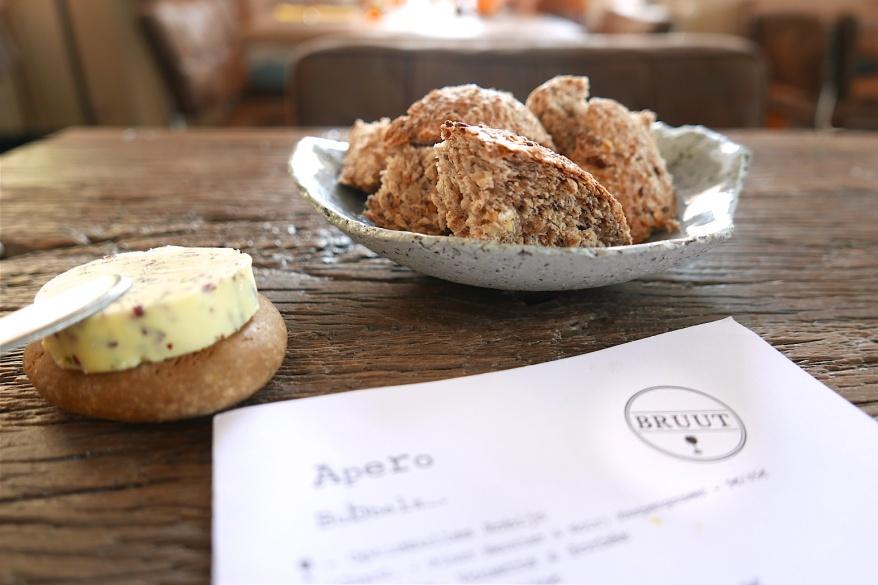 Bread at Bistro Bruut
