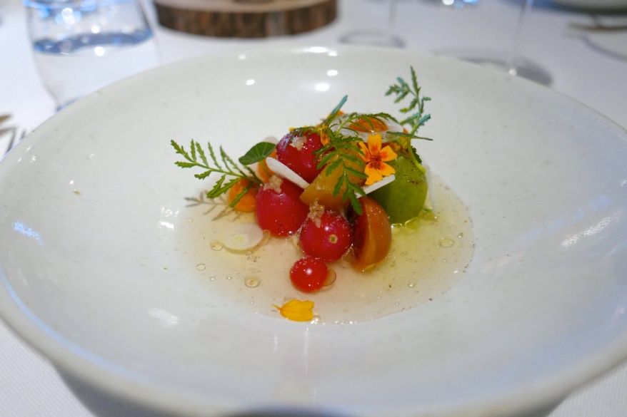 Tomato, cardamon