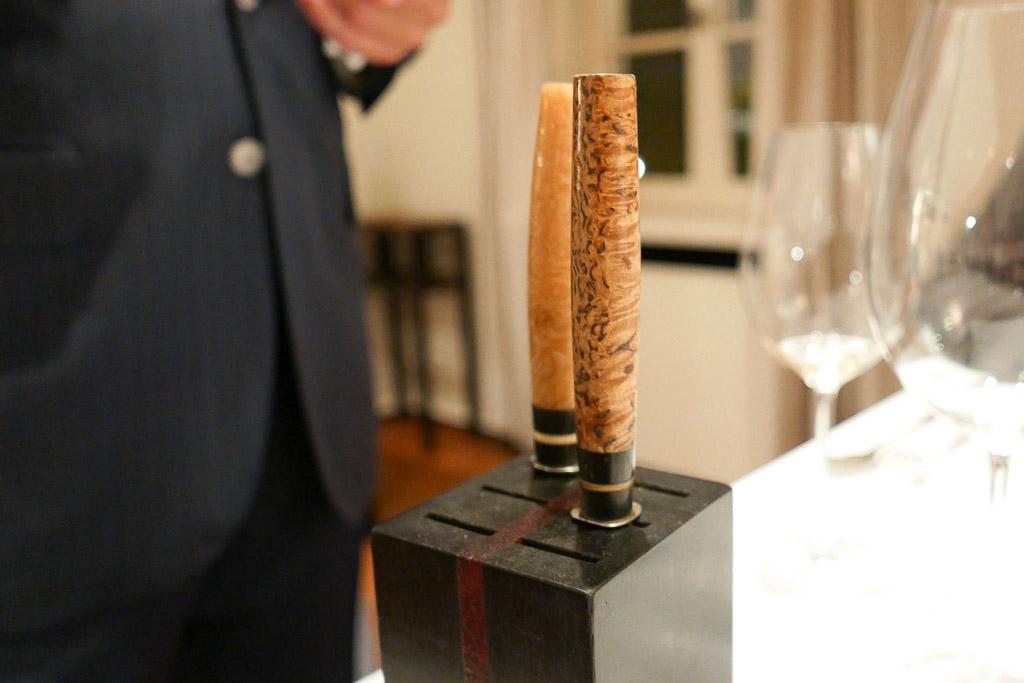Knives at Hof Van Cleve