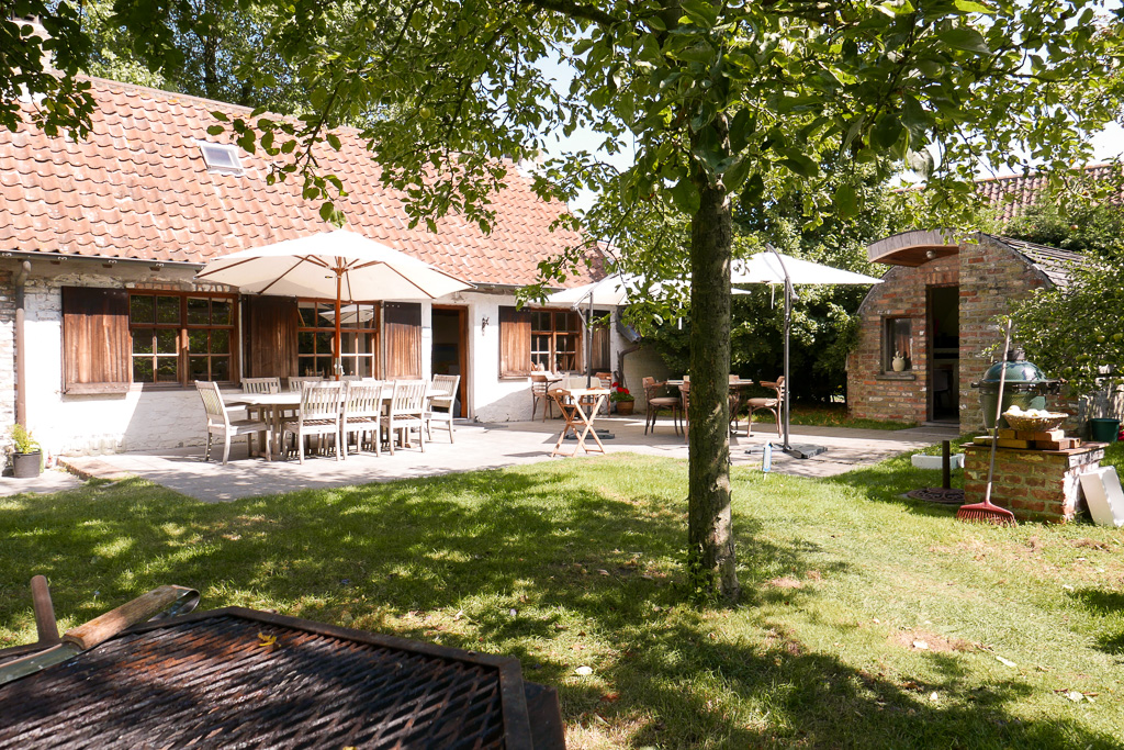 Patio at WIllem Hiele