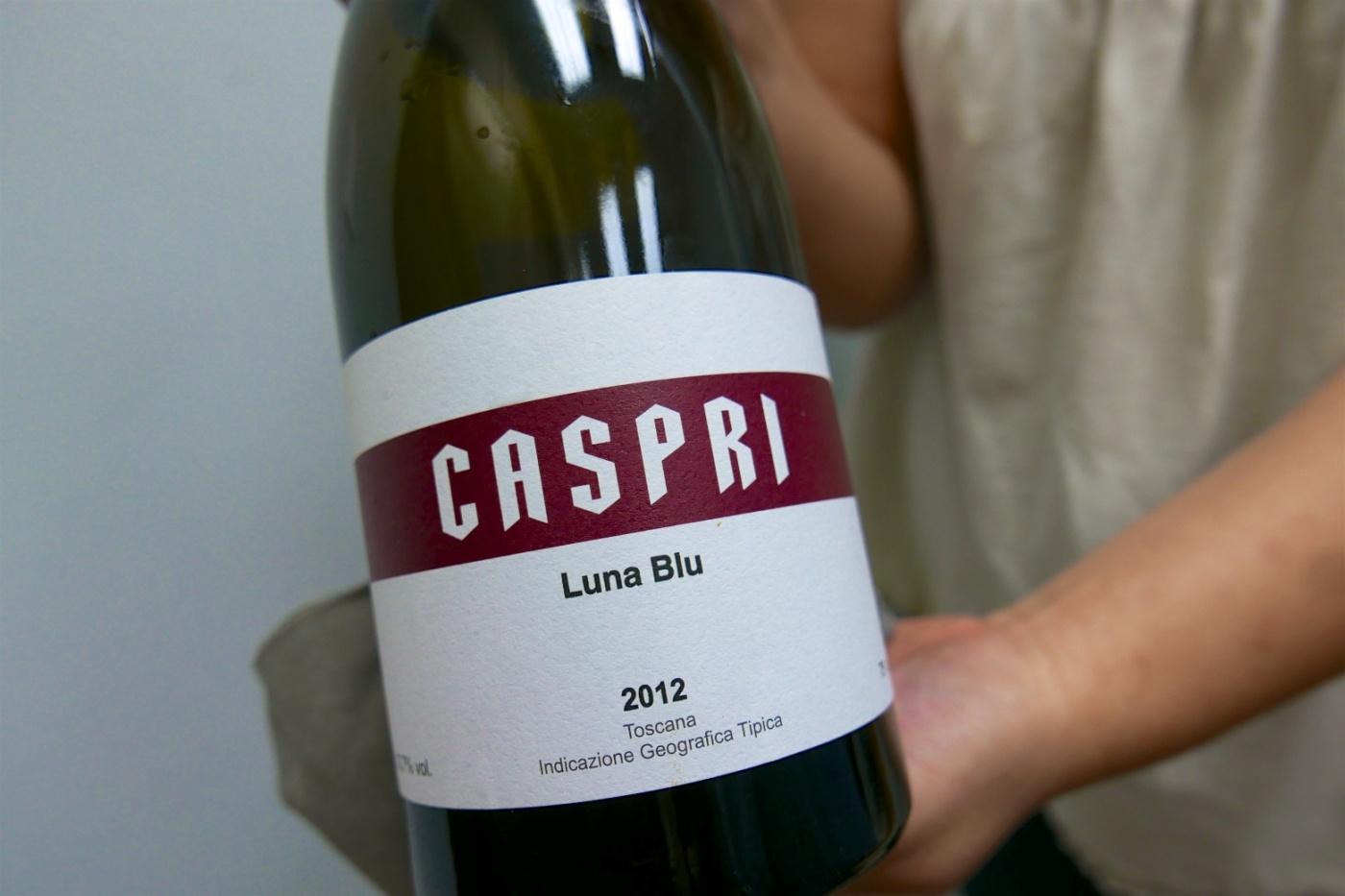 2012 Fattoria di Caspri 'Luna Blu' Toscana IGP, Tuscany, Italy