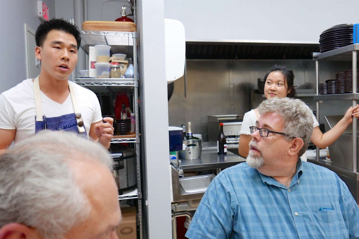Chef Dave Park at Hanbun