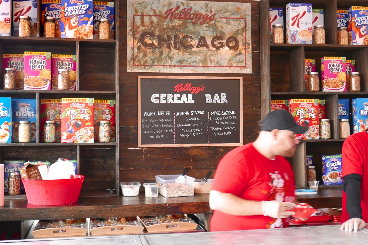 Kellogg's Cereal Bar Throwdown
