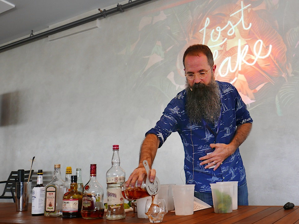 Mojito. Rum in Cocktails: A Cocktail Demo with Paul McGee