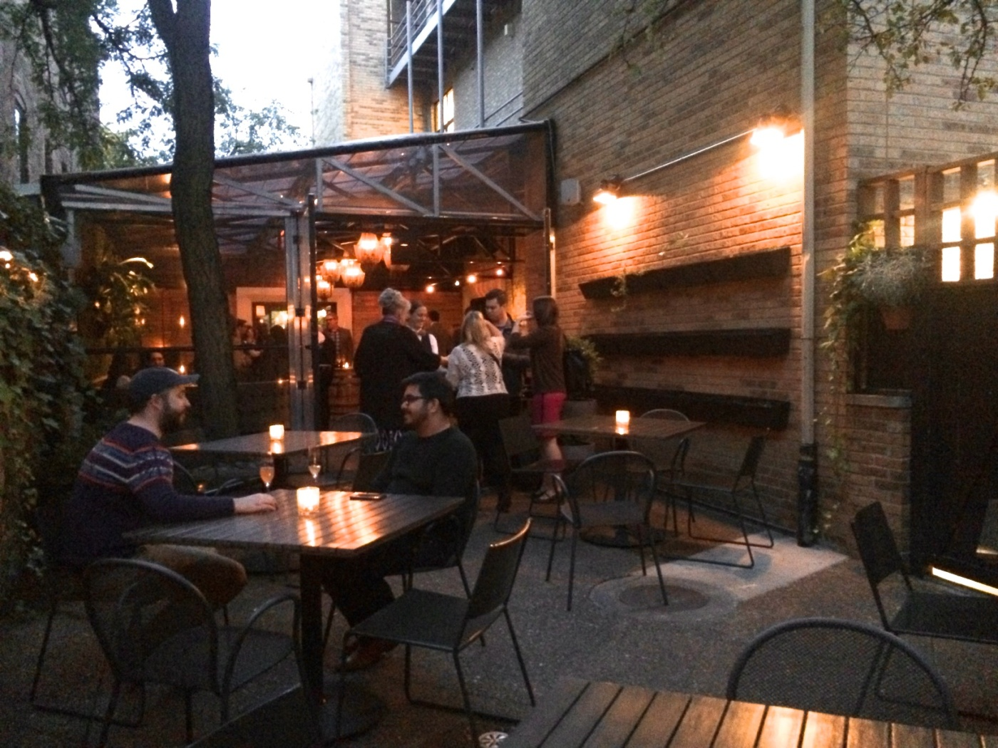 Patio at Boka