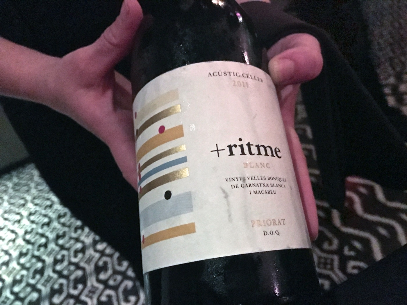 2011 Acustic Celler Ritme Blanc, Priorat DOCa, Spain
