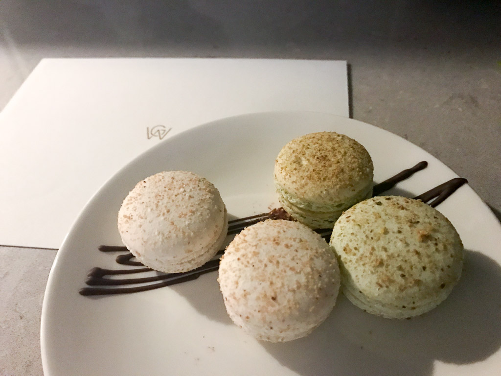 Macarons from Hotel William Gray