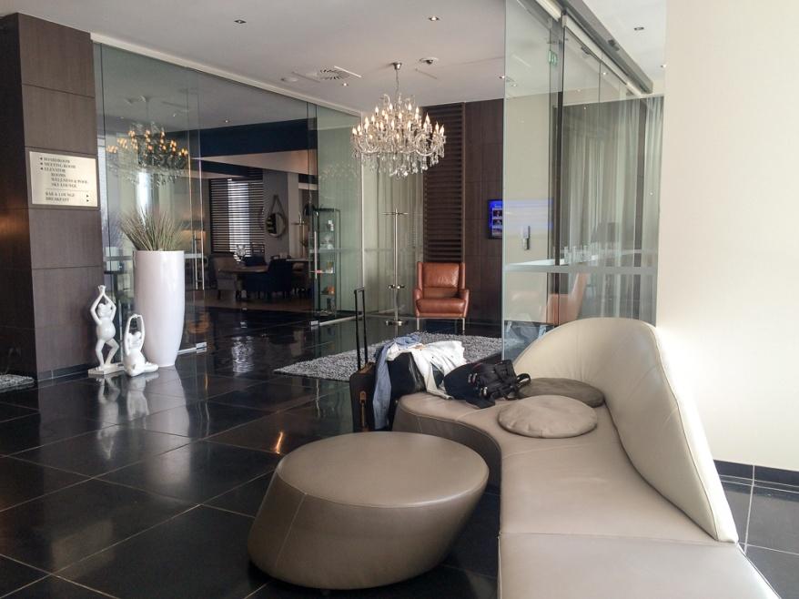 Lobby at Blue Wood Hotel