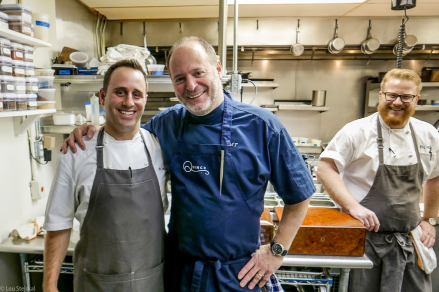 Lee Wolen of Boka and Michael Tusk of Quince