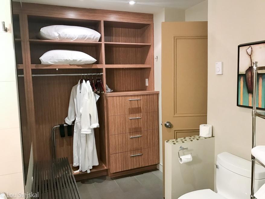 Heron Suite Second Bedroom Closet