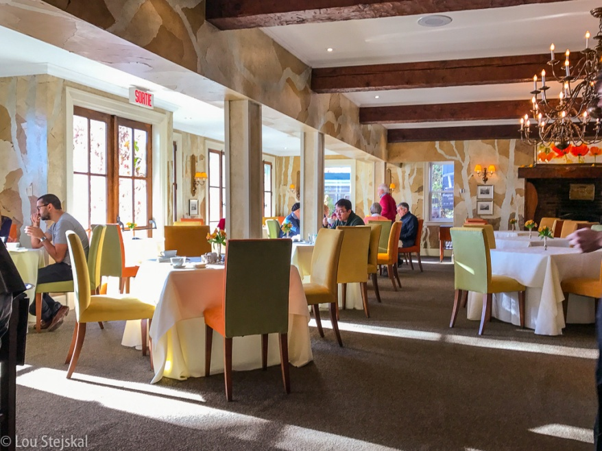 Dining room at Le Hatley
