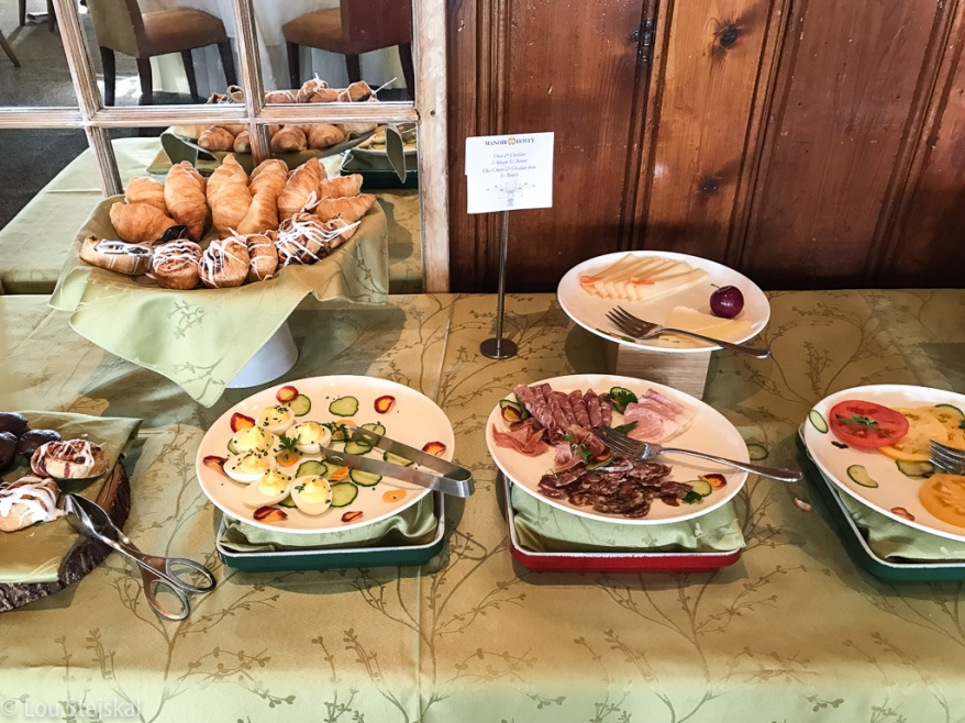 Continental Buffet at Le Hatley