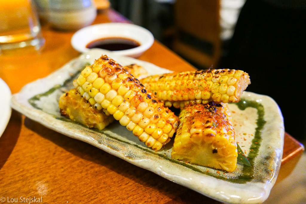 Sweet Corn, Butter and Soy ($7)