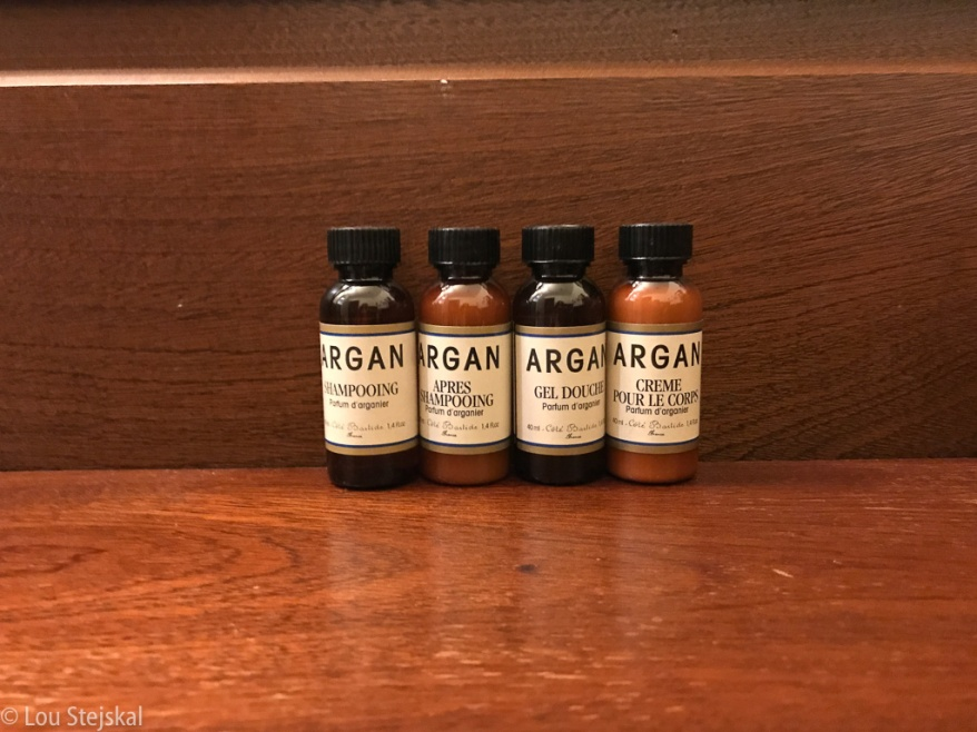 Argan products at Freehand Chicago