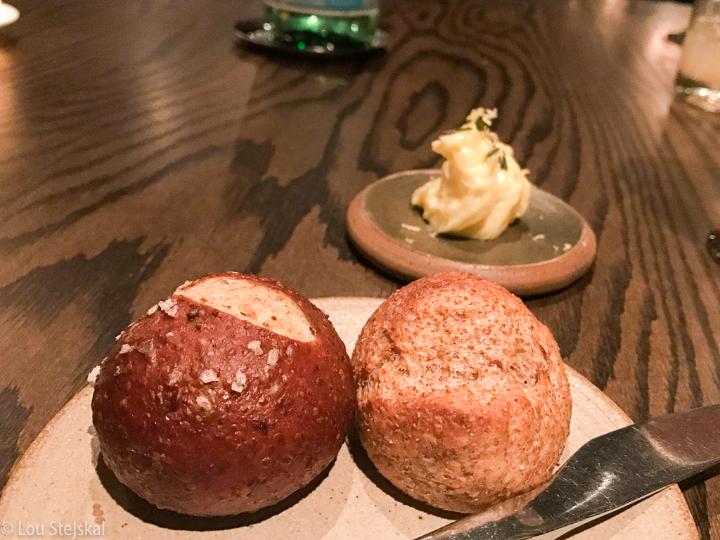 House-made breads and butter