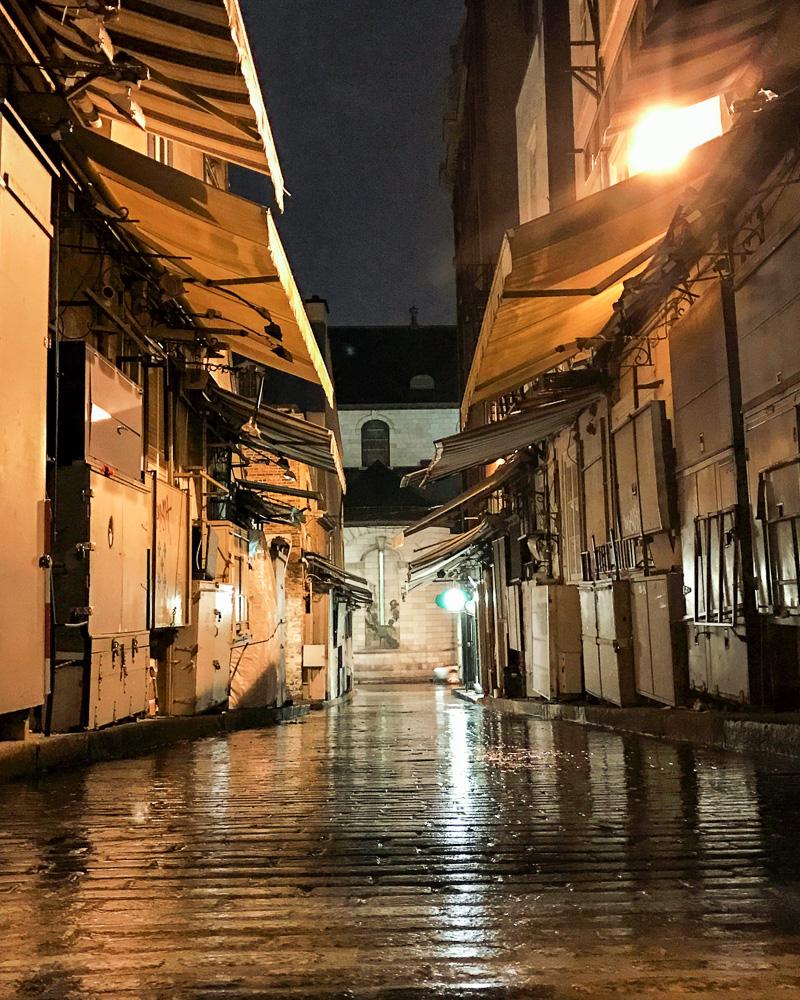 Artist Alley on Rue de Tresor