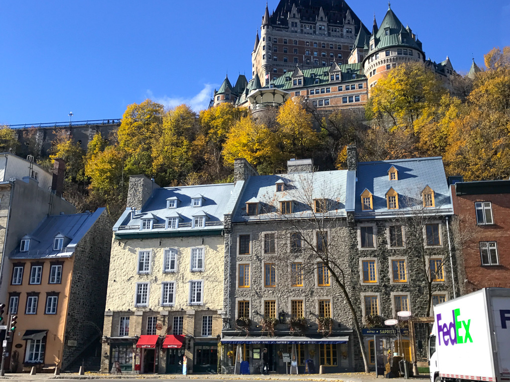 View of Fairmont Le Château Frontenac