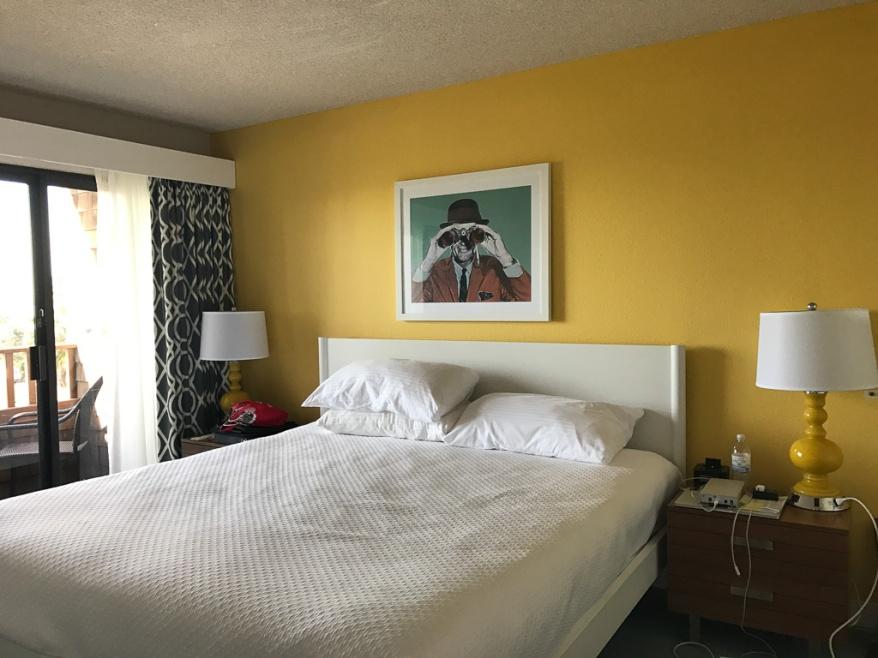Bedroom 1 at La Jolla Cove Suites