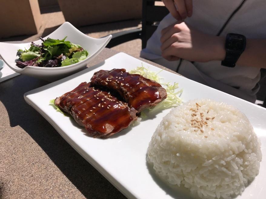 Teriyaki Beef Entree ($21)