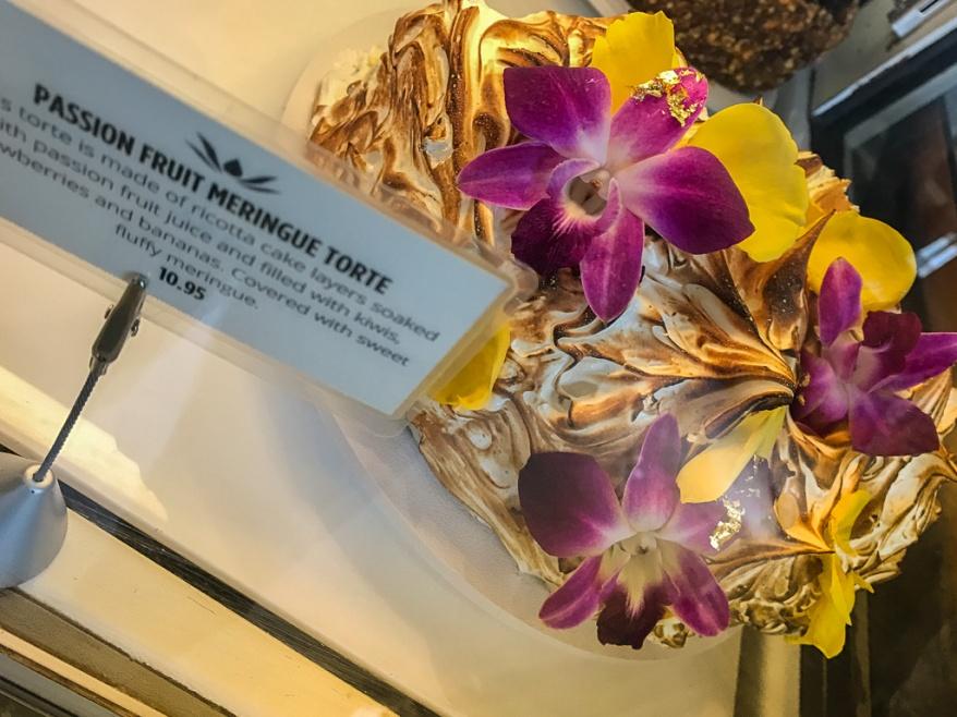 Passion Fruit Meringue Torte ($10.95)