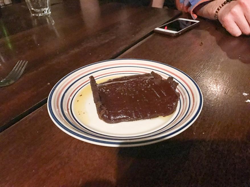 Salted Caramel, Chocolate Tart ($8)