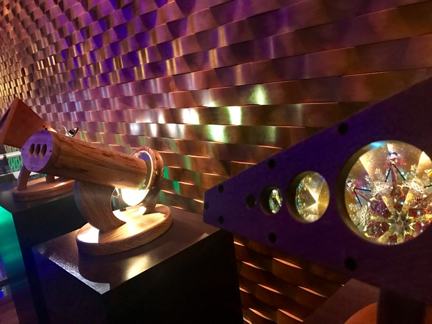 Kaleidoscopes in the lobby